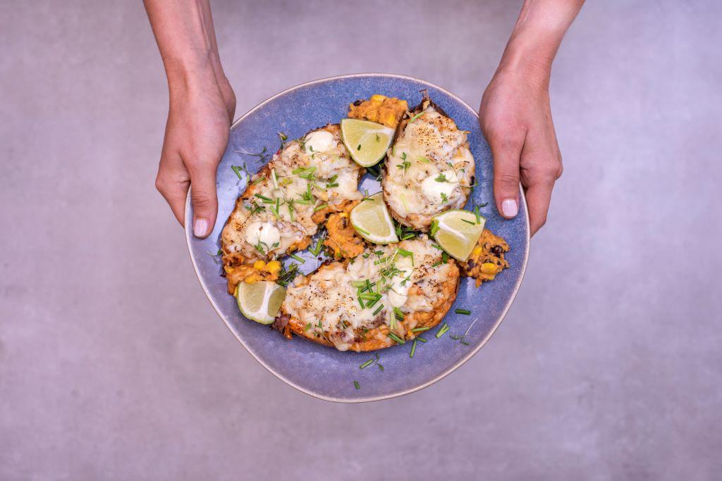 Freshly Fish Augustus visbox - Gevulde zoete aardappel met dorade