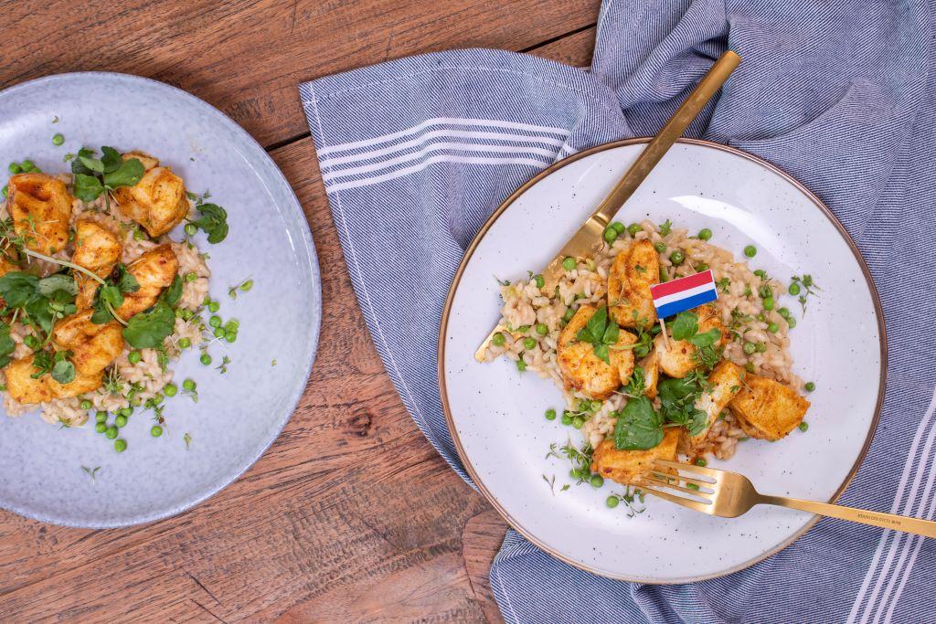 Freshly Fish Augustus visbox - Risotto met kabeljauw