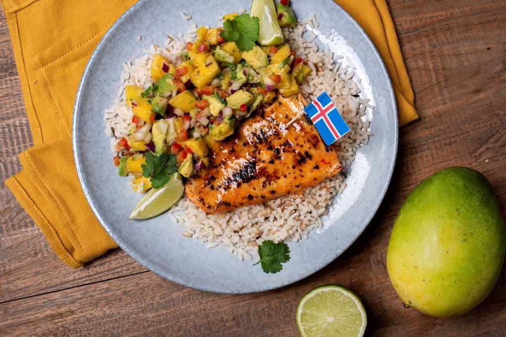 Freshly Fish Augustus visbox - Zeewolf met mango-avocado salsa