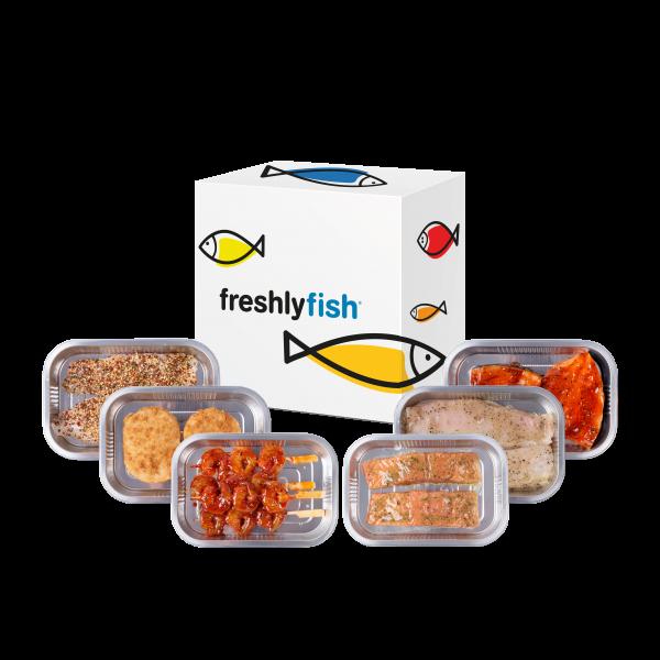 Freshly Fish september visbox