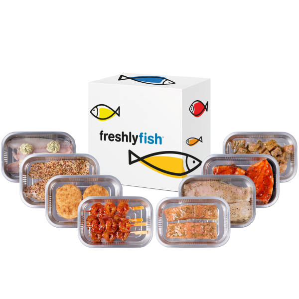 Freshly Fish september visbox XL
