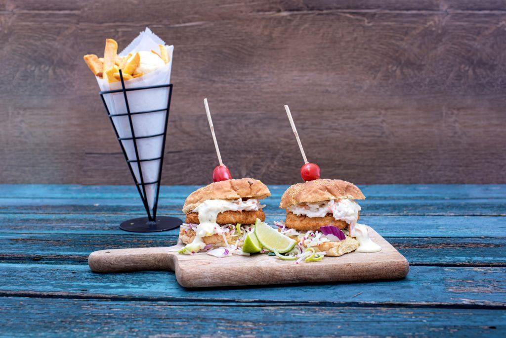 Kabeljauwburgers - recept van Freshly Fish met de september visbox