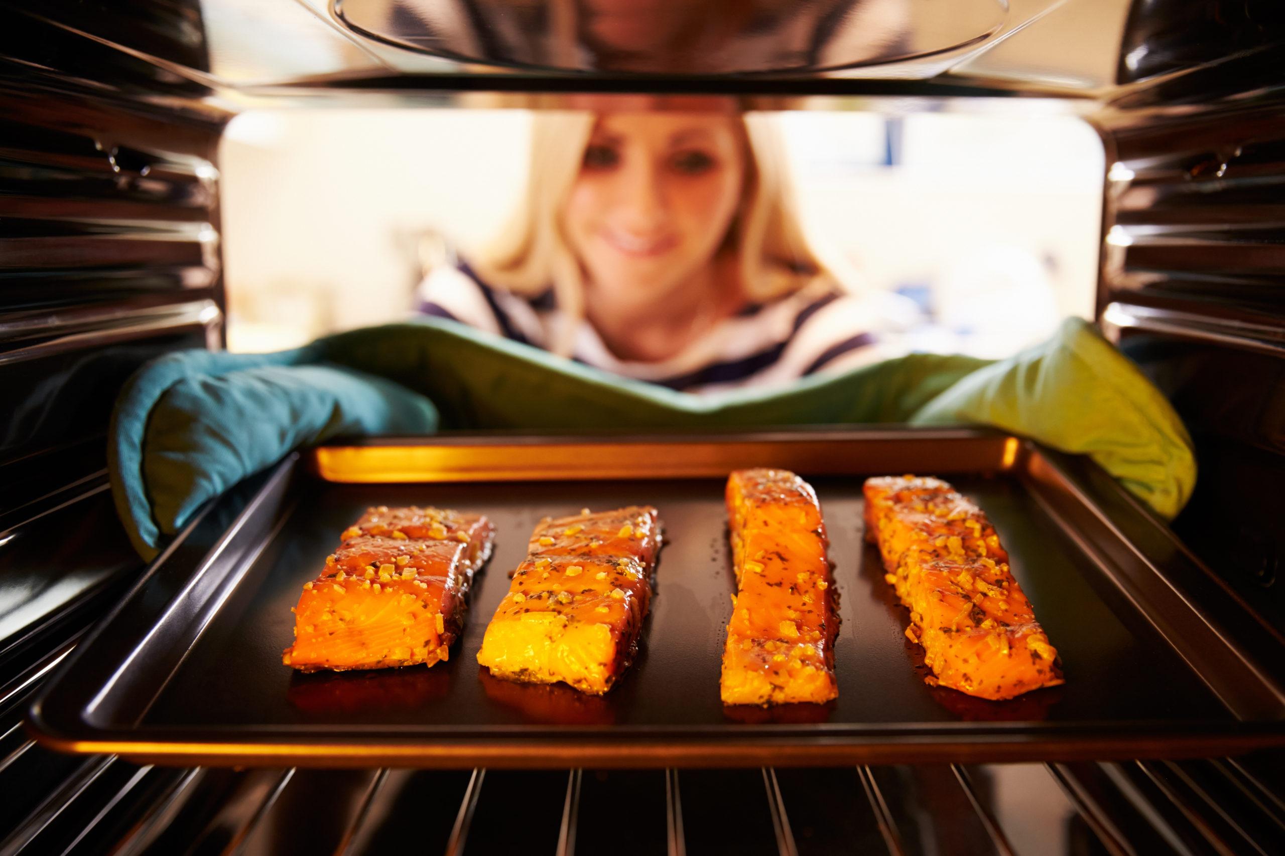 Vis in de oven bereiden