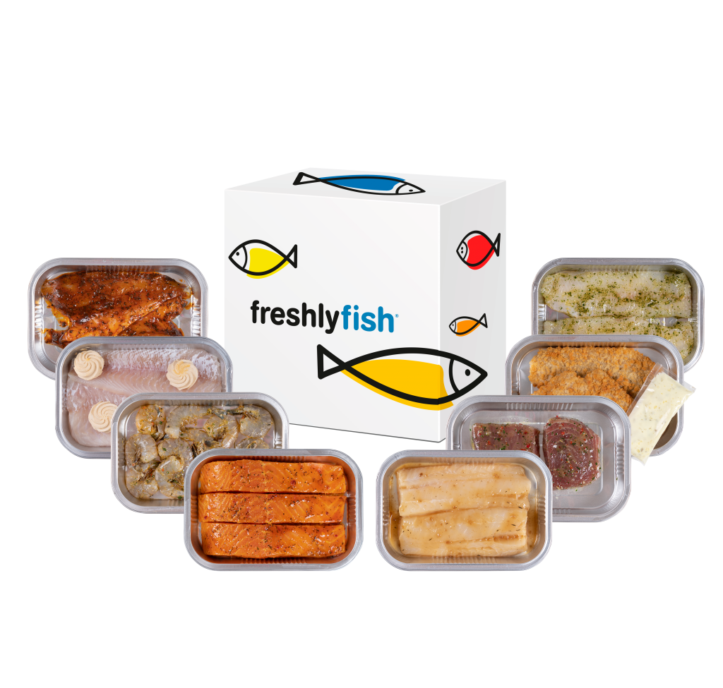 Freshly Fish december visbox 2020
