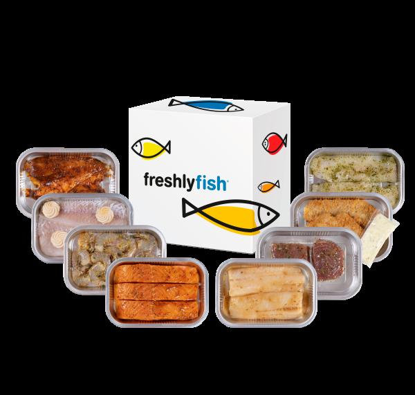 Freshly Fish december visbox 2020